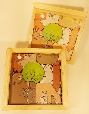 1102 Jucarie cutie puzzle