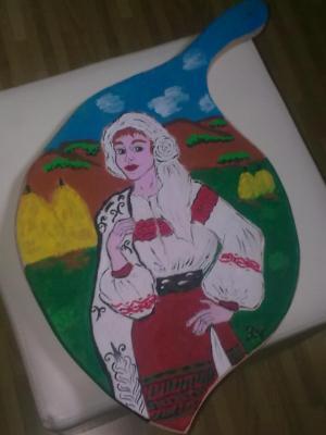 platou pictat