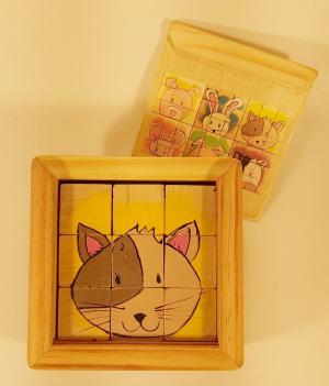 1106 Jucarie cuburi puzzle