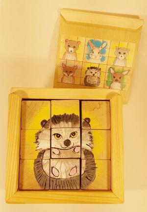 1104 Jucarie cuburi puzzle