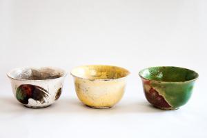 Boluri din ceramica raku