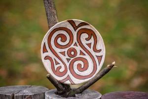 Cucuteni - farfurie cu design spiralat.