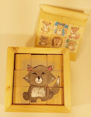 1105 Jucarie cuburi puzzle