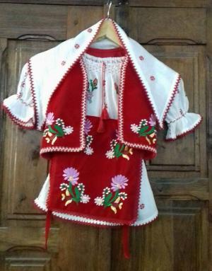 Costum Popular Fetita 1An