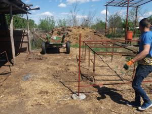 Gard demontabil/imprejmuiri - tip 1