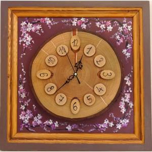 203 Ceas lemn de cires