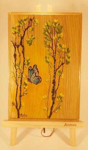 103 Pictura lemn