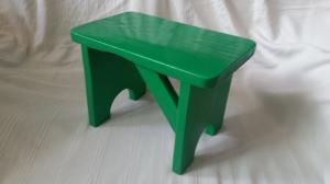 Scăunel verde