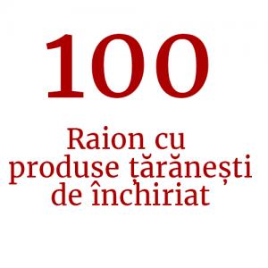 Raion cu produse țărănești de închiriat (100 de standuri)